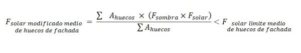 Ecuación factor solar by Hablemos de aluminio
