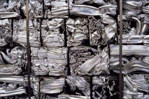 Chatarra de perfiles de aluminio